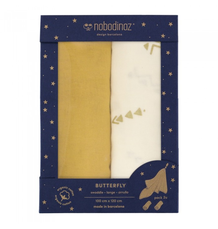 Multipurpose Towels - Butterfly - Nobodinoz