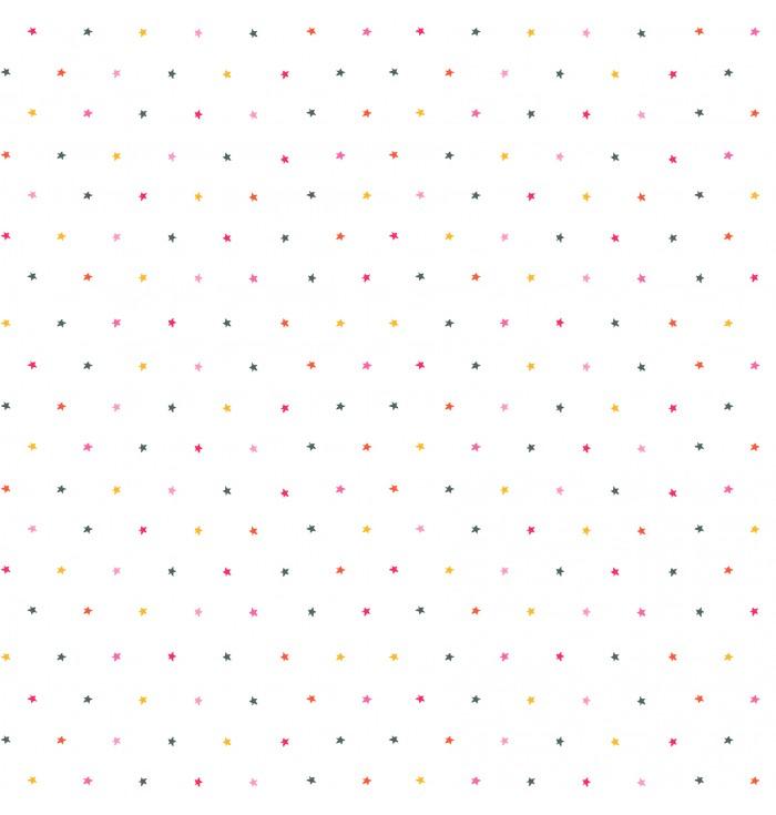 Carta Da Parati - Stelle Multicolor
