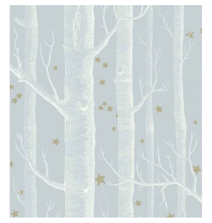 Wallpaper Whimsical - Wood & Stars - Cole&Son