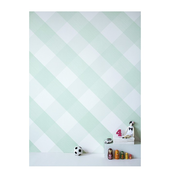 Wallpaper Lovely Gingham - Bartsch Paris