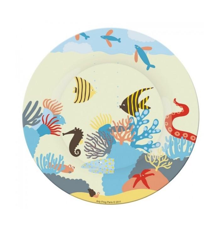Side Plate - Sea Animals
