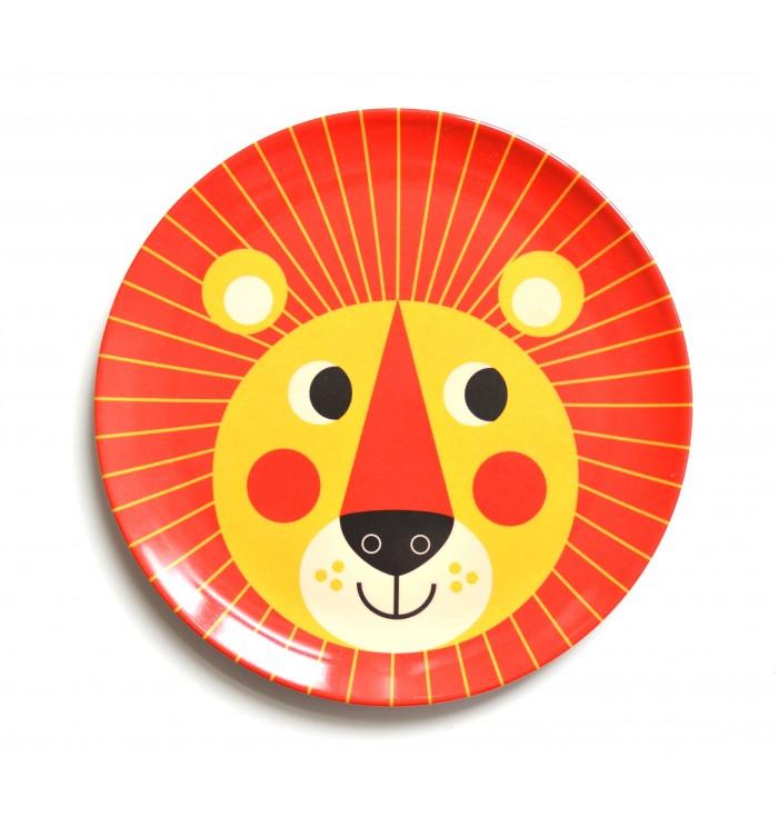 Piattino - leone