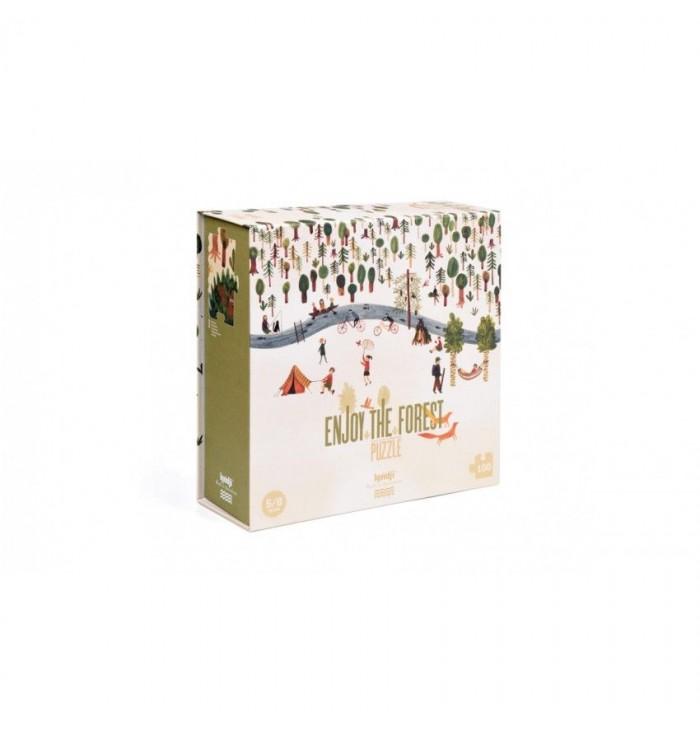 100 pezzi Londji Puzzle - Enjoy The Forest