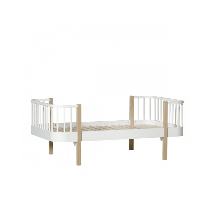 Wood Junior Bed (+ conversion kit) - Oliver Furniture