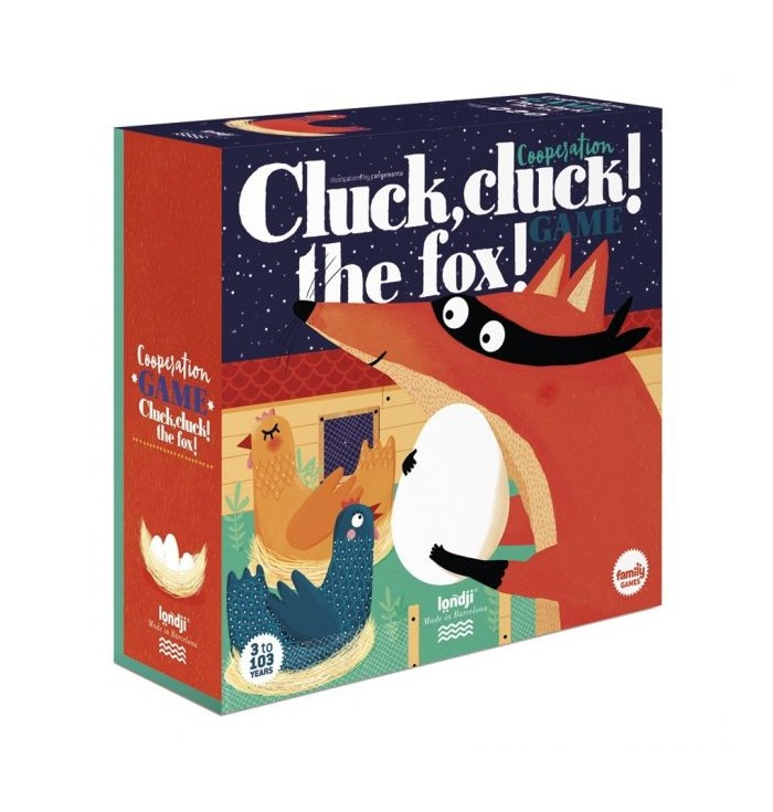Londji Cooperation game - Cluck, cluck! The fox!
