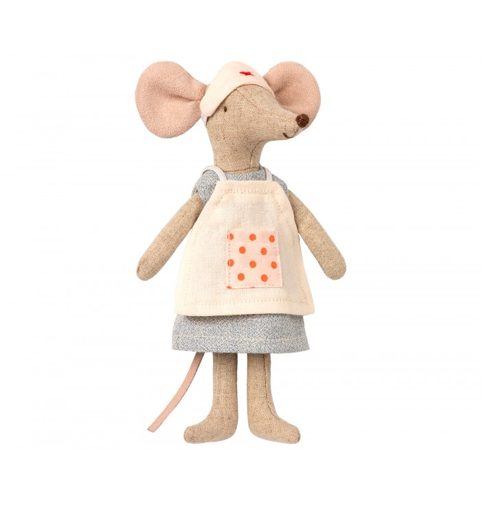 Big girl Mice with dresses - Maileg