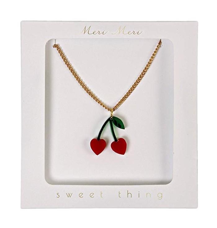 Meri Meri Cherry Charm Necklace