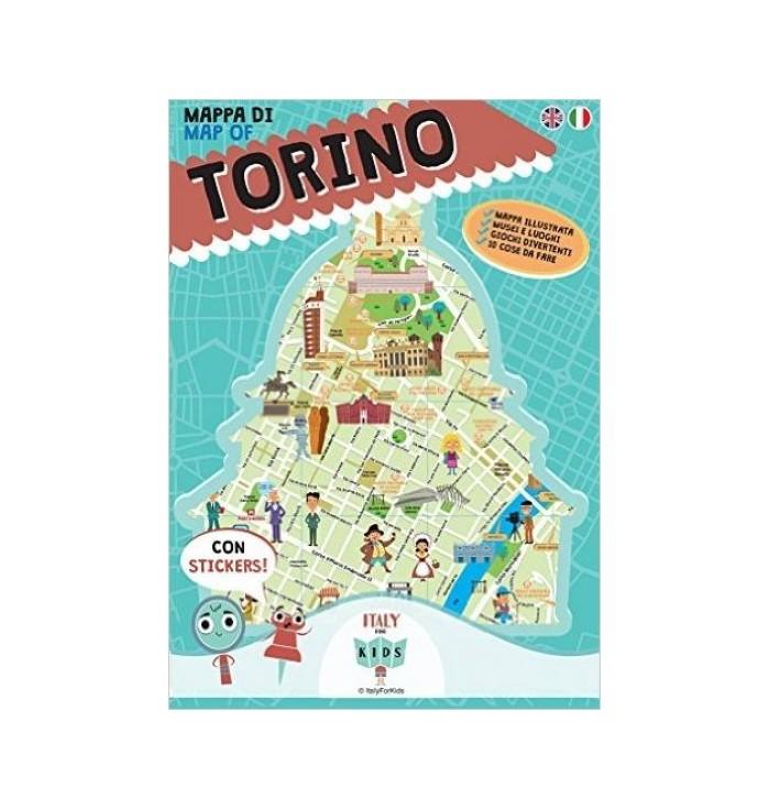 Illustrated Map Italian City