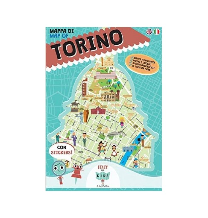 Mappa illustrata Città Italiane