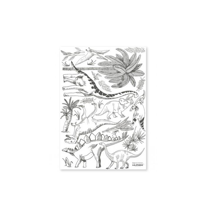 Lilipinso Wall Stickers - Dinosaurs