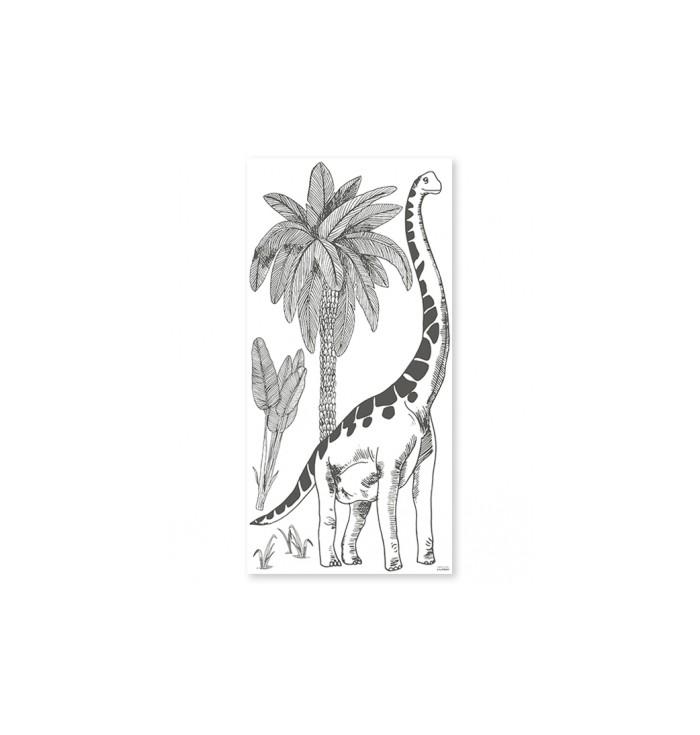 Lilipinso Wall Stickers -Brontosaurus
