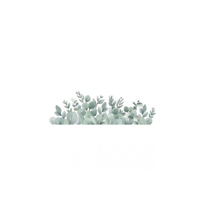 Lilipinso Wall Stickers - Eucalyptus Leaves