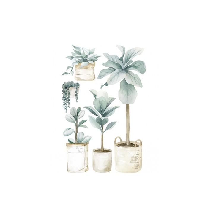 Lilipinso Wall Stickers - Large Plants