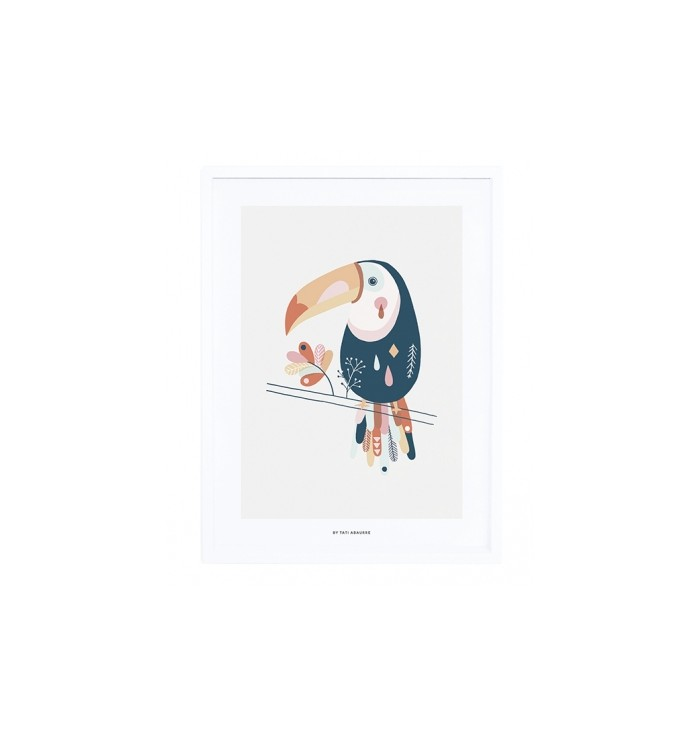 Lilipinso Poster & Frame - Toucan