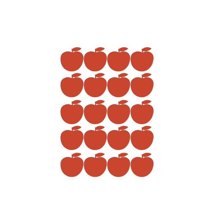 Lilipinso Wall Stickers - Red Apples