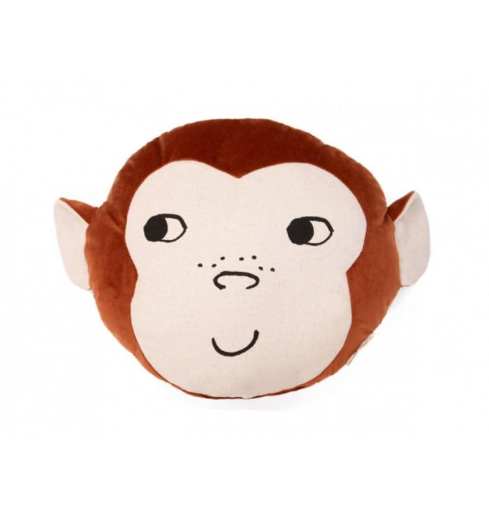 Cuscino in velluto Scimmia - Nobodinoz