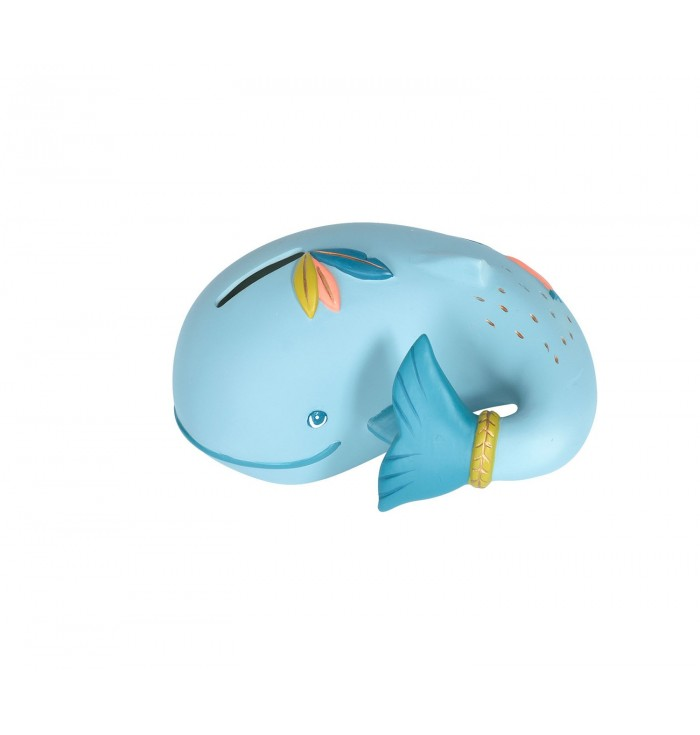 Moulin Roty Whale Moneybox - Le Voyage d'Olga
