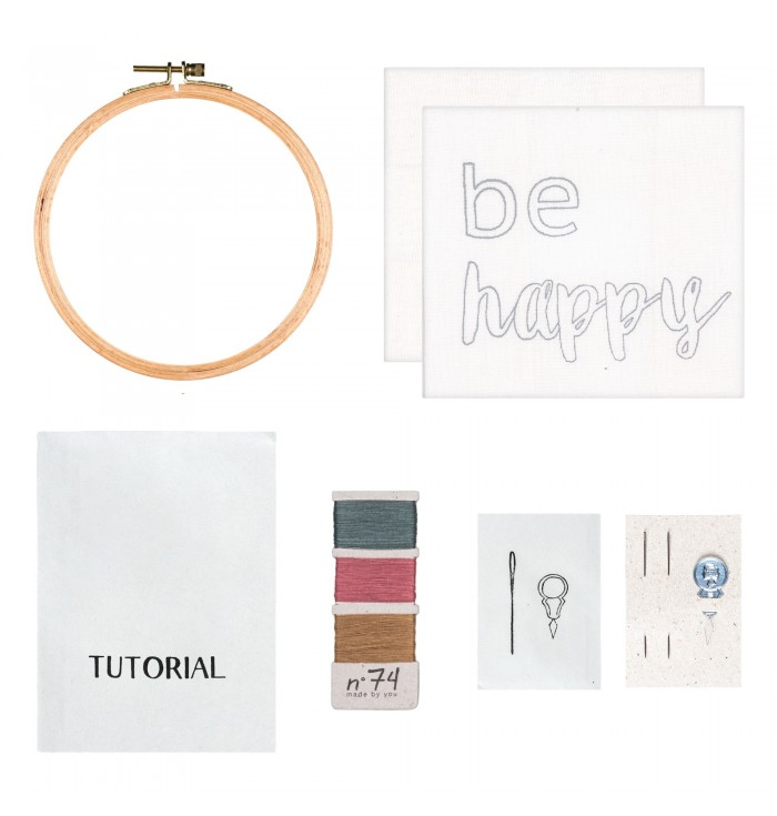 N° 74 Embroidery Kit - Stillness