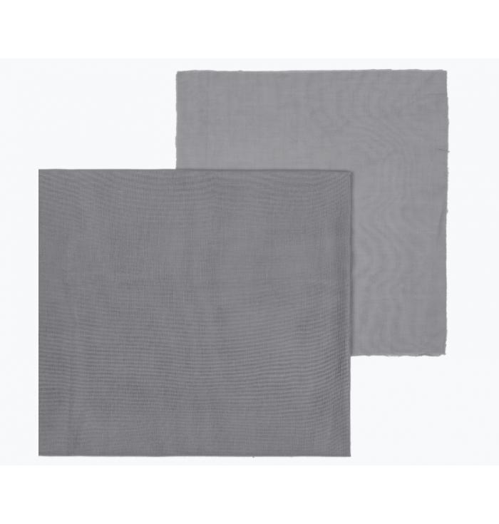 N° 74 Fabric Double Saloo - Stone Grey