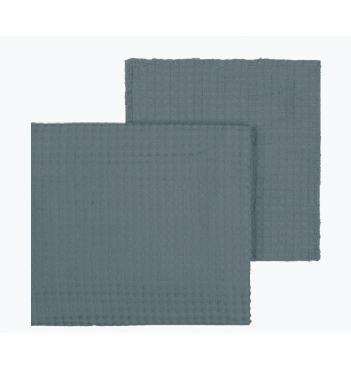 N° 74 Fabric Gauze Waffle - Ice Blue