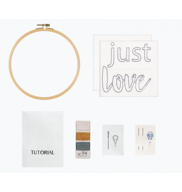 Hoop Kit Quote N° 74 - Just Love