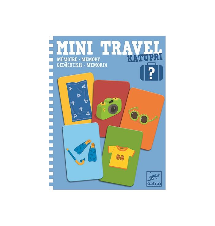 Set di carte - Mini Travel - Djeco
