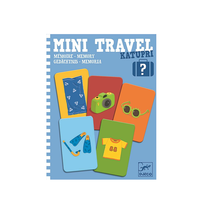 Set of cards - Mini Travel