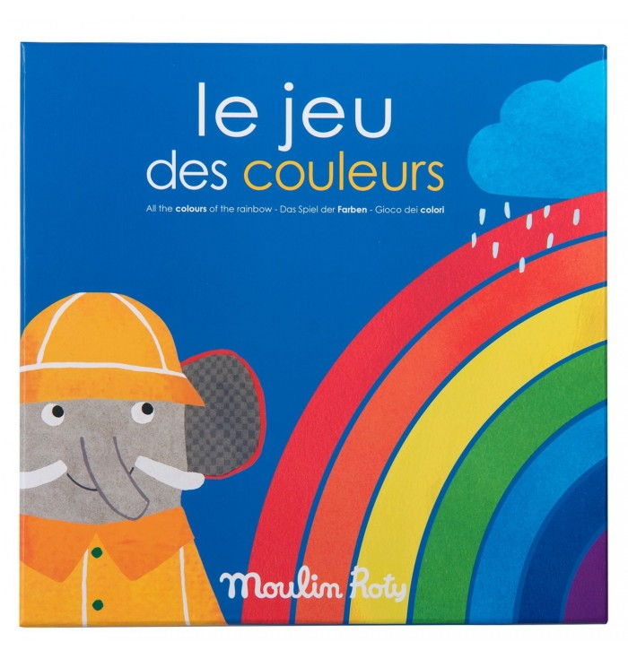 Moulin Roty Colours Game - Les Popipop