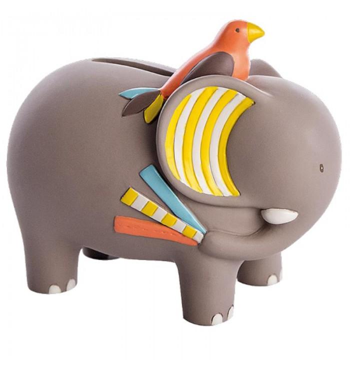 Moulin Roty Elephant Moneybox - Les Papoum
