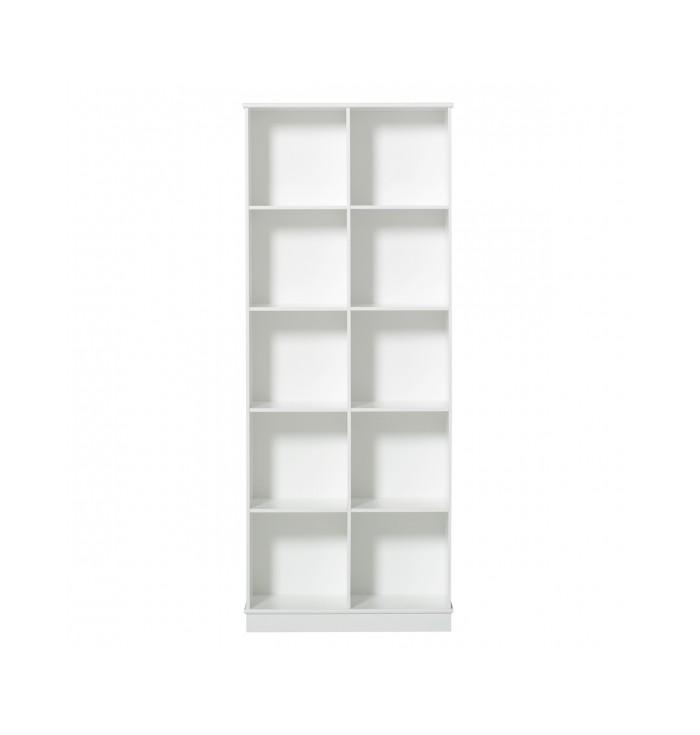 Wood Shelving Unit 2x5 - Oliver Furniture