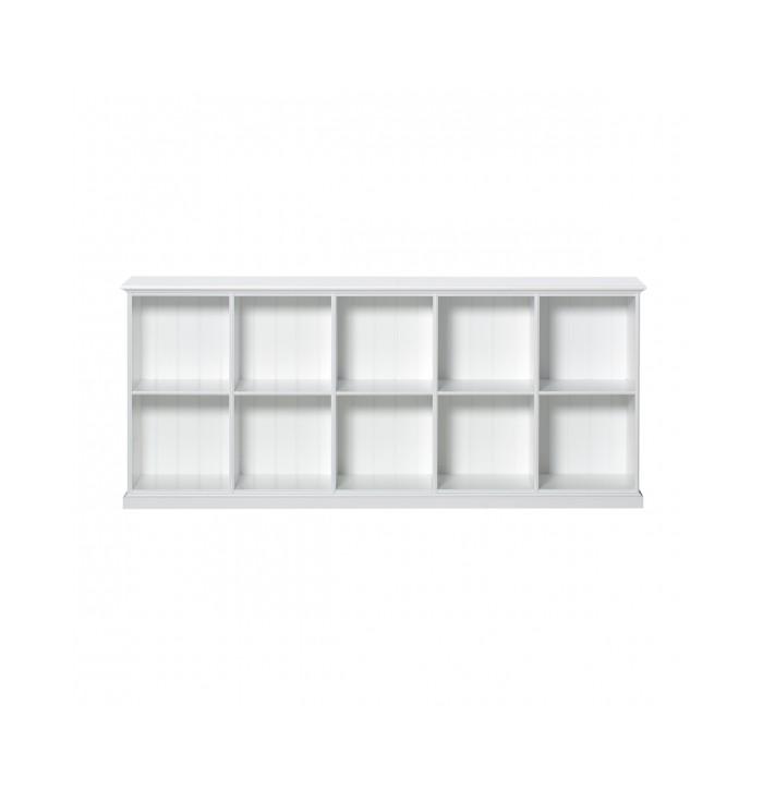 Seaside Shelving Unit Low 10 rooms - Oliver Furniture