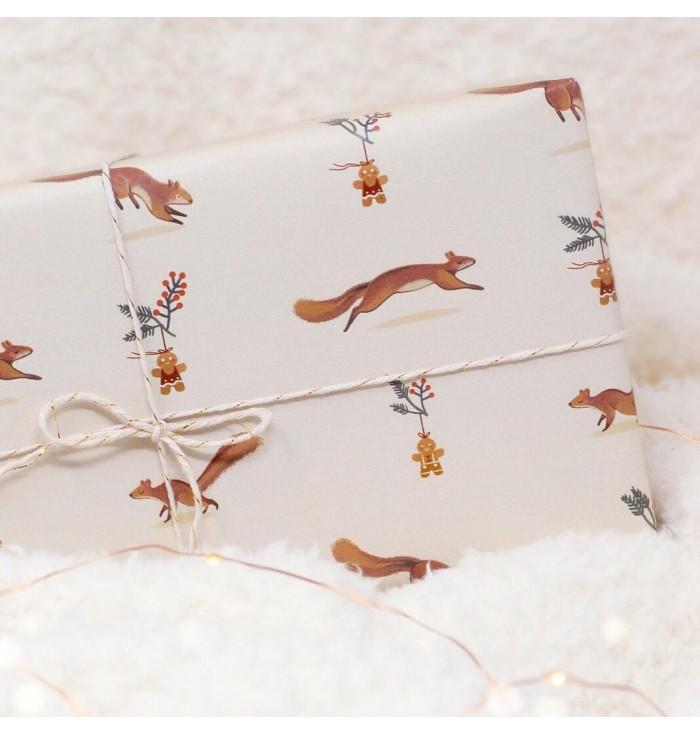 carta da regalo - scoiattoli