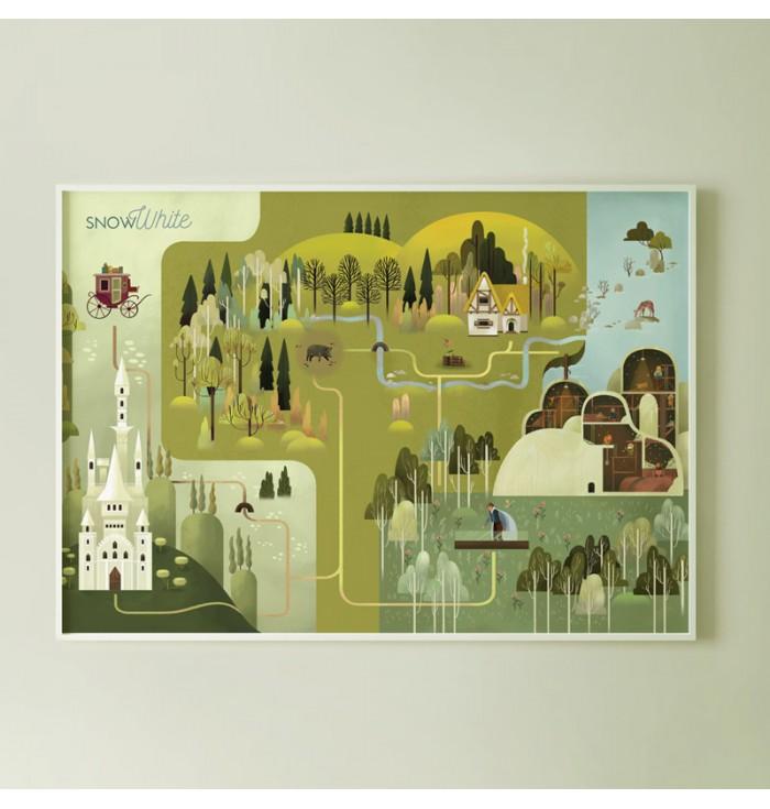 Poster - Biancaneve