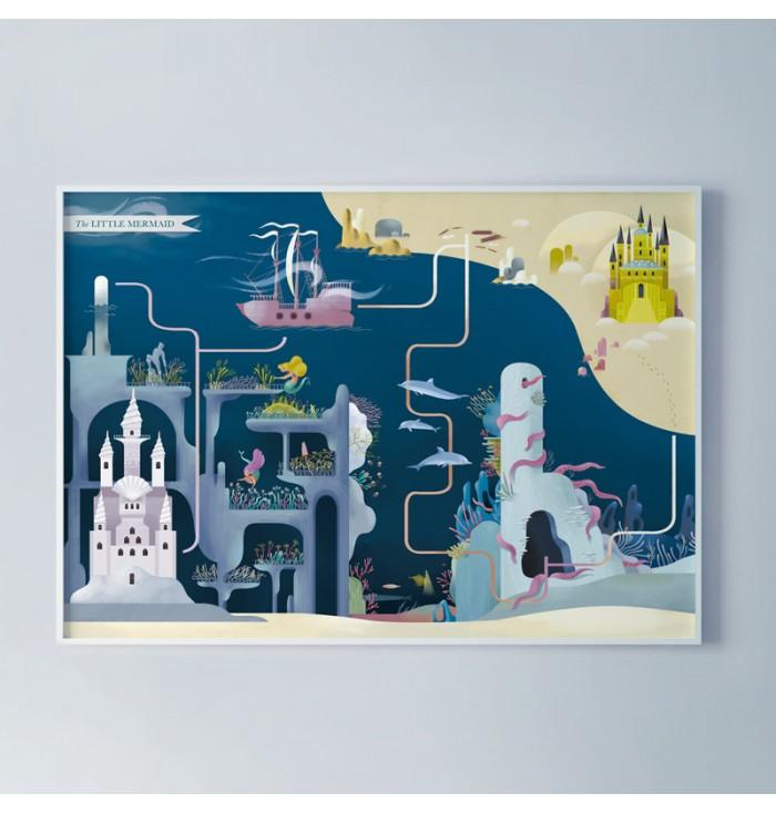 Poster - La Sirenetta