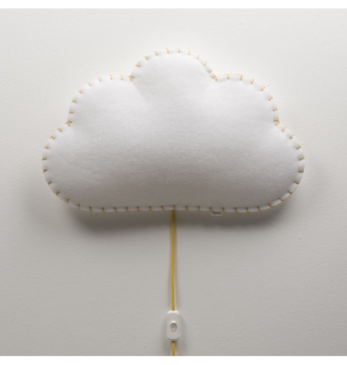 Lampada soffice con interruttore - Nuvola - Buokids
