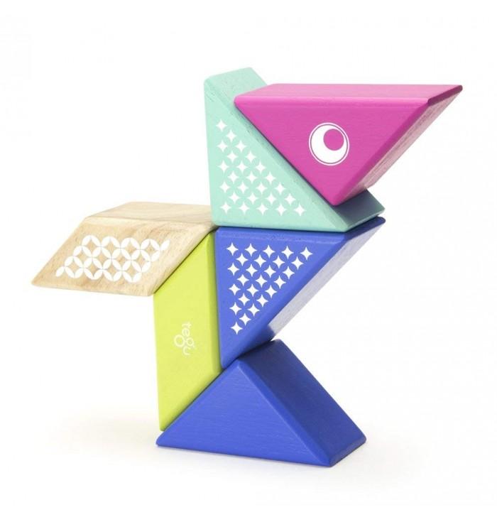 Tegu Hummingbird Travel Pal Magnetic Wooden Block Set