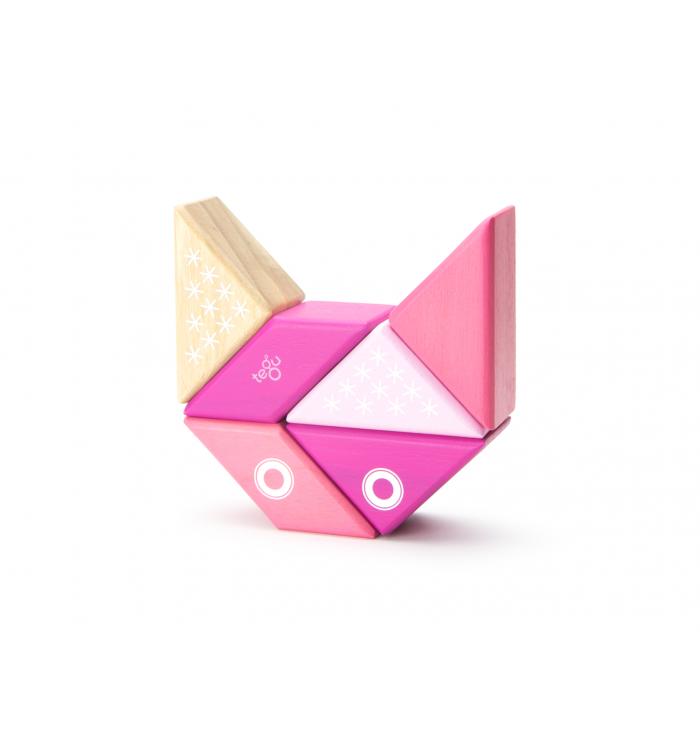 Tegu Kitty Travel Pal Magnetic Wooden Block Set