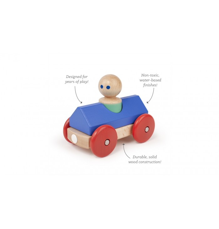 Pezzi Magnetici Tegu Magnetic Racer - Royal Blue