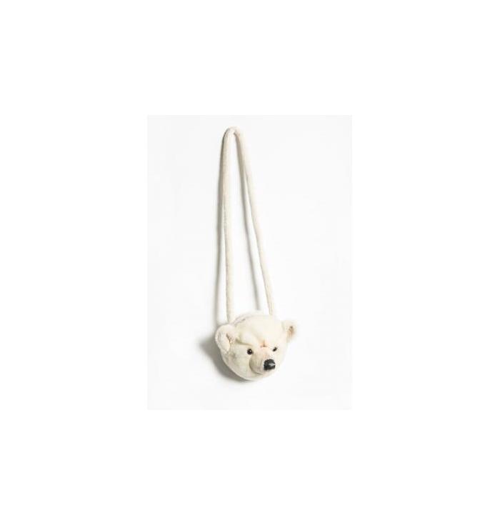 Borsetta peluche Orso Polare - Wild & Soft