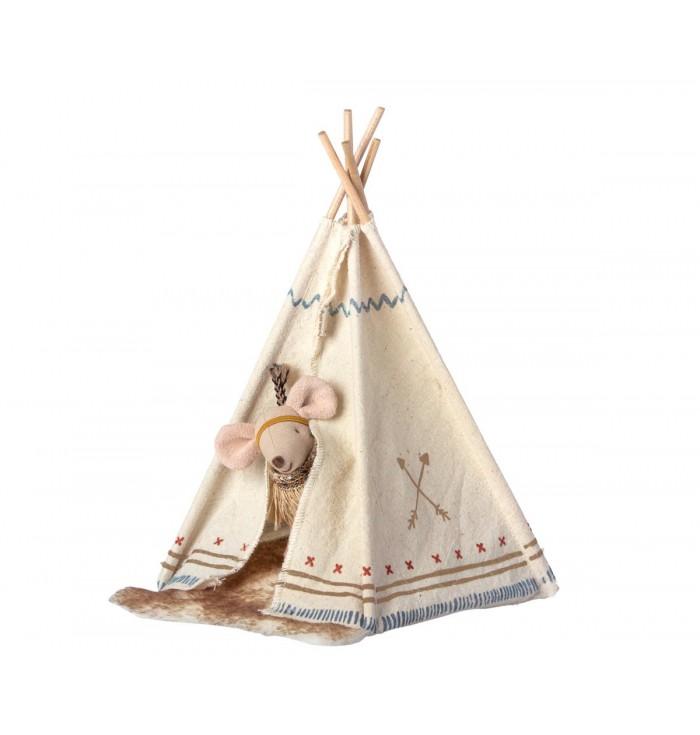 Topolina piccola con tenda indiana - Maileg