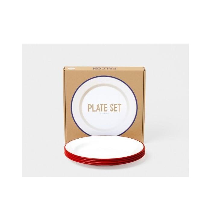 Flat plate coloured metal