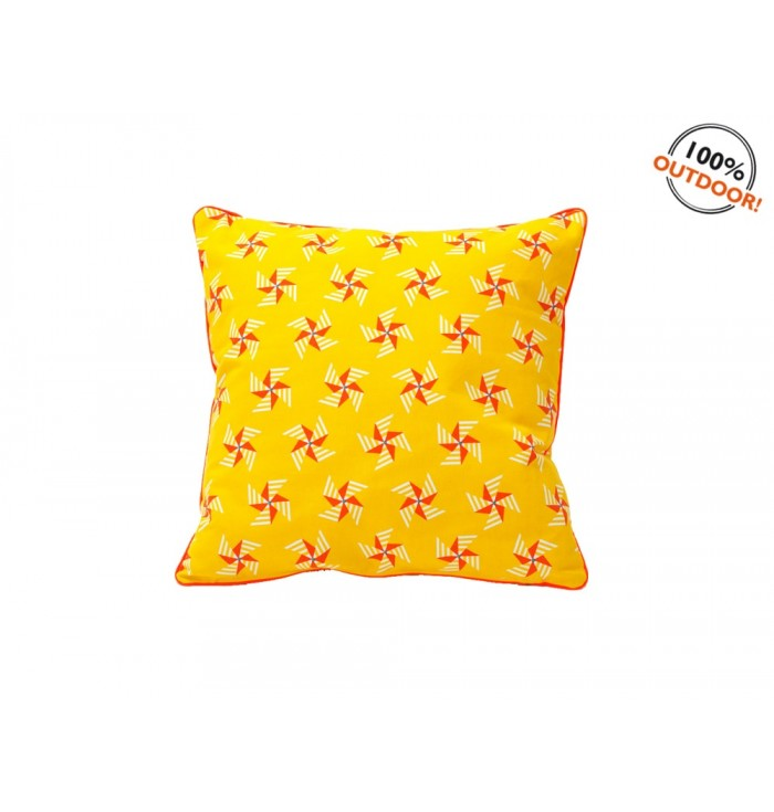 Cushion windmills - yellow