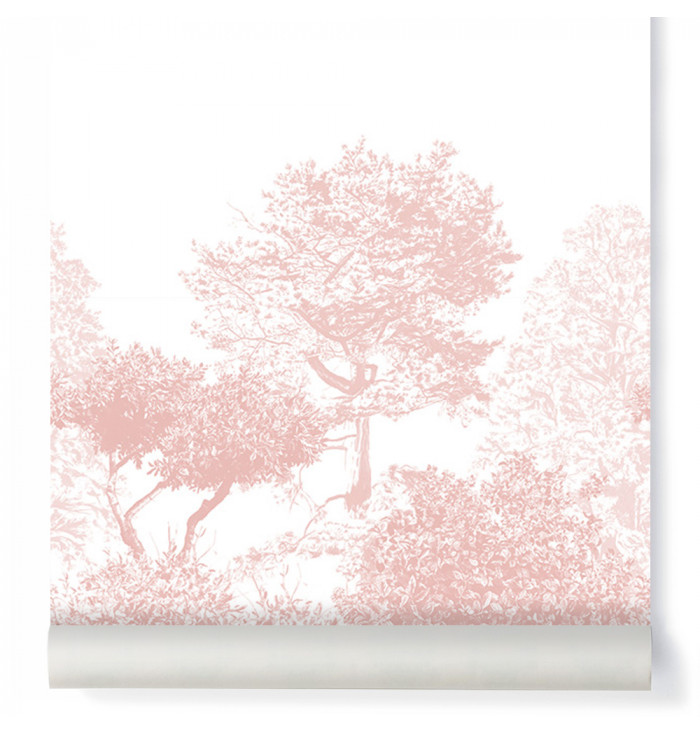 Wallpaper with tree
