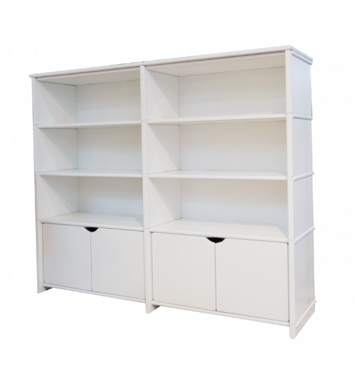 Basile Shelves - with doors - Mathy by Bols