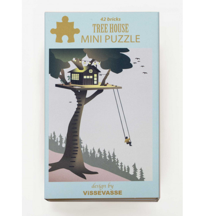 Mini Puzzle 42 pieces - Tree house