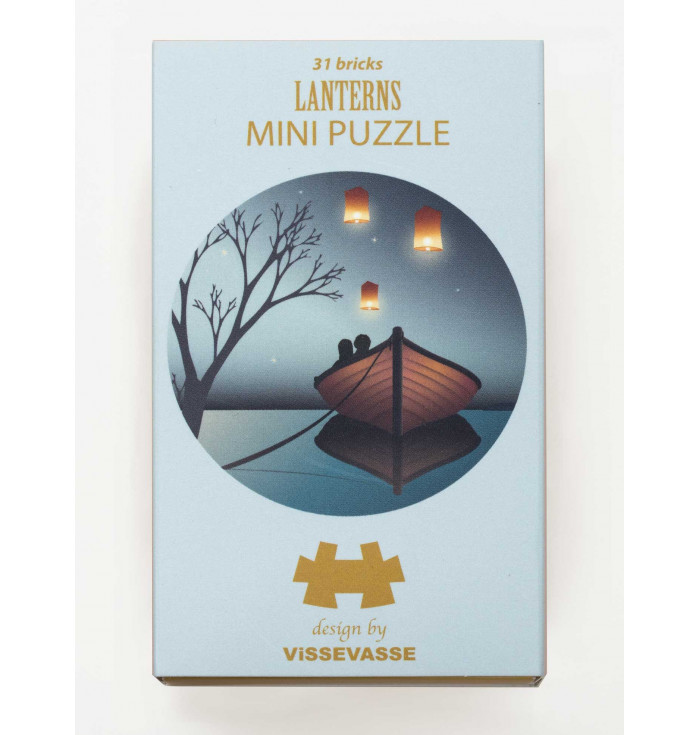 Mini Puzzle 31 pieces - lanterns