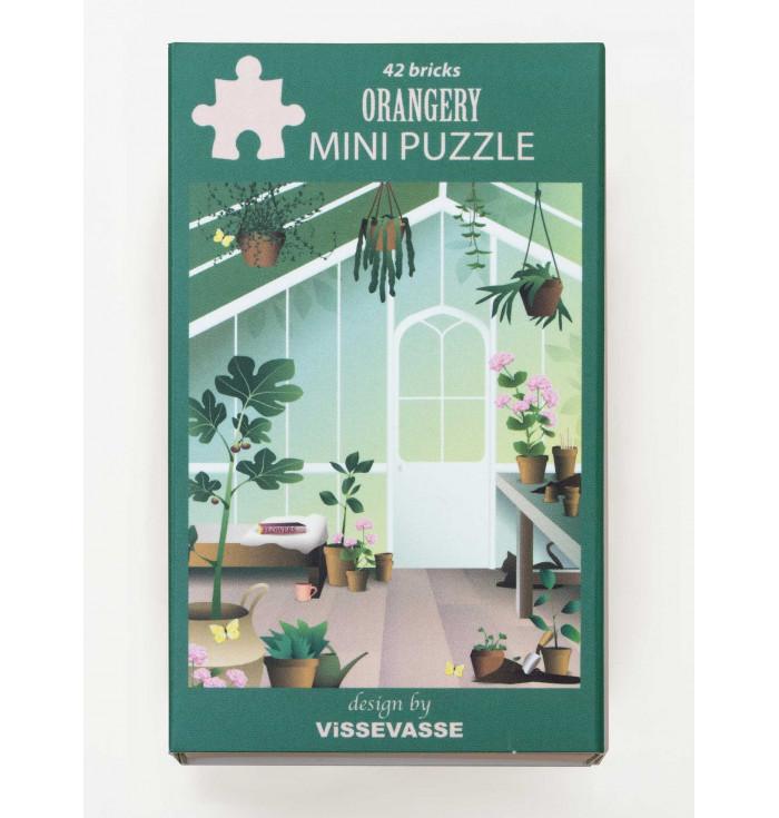 Mini Puzzle 42 pieces - Orangerie