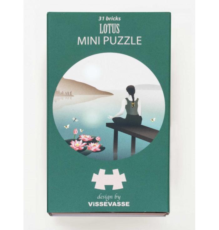 Mini Puzzle 31 pezzi - lotus
