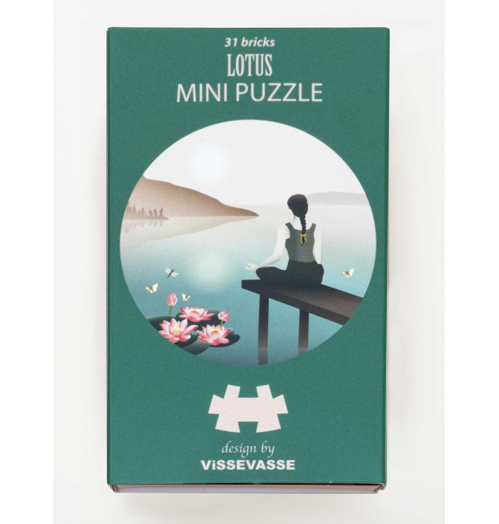 Mini Puzzle 31 pieces - lotus