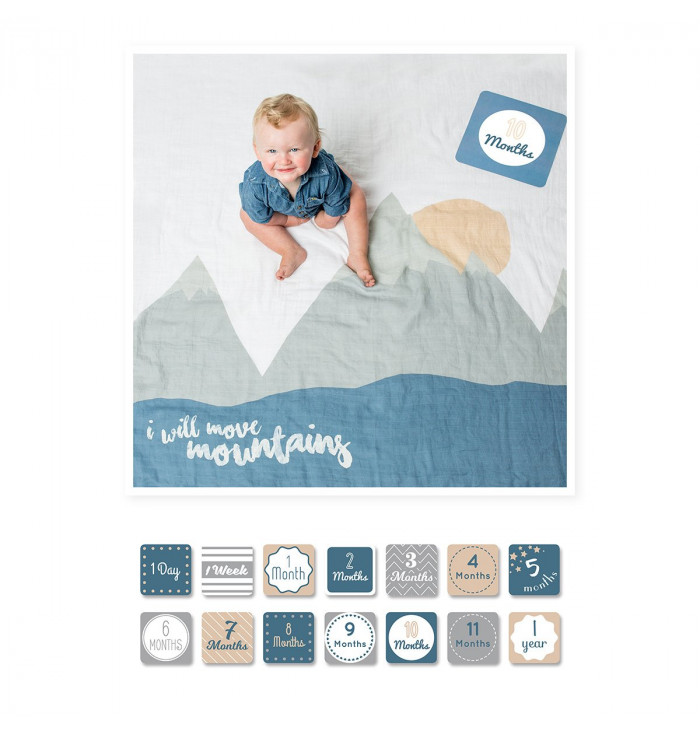 Cover Kit First Year I will move mountains - For The Babies More Social!